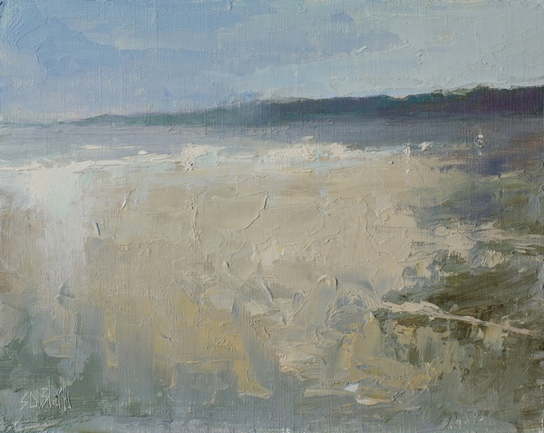 Carkeek Shore - a painting by artist Simon Bland