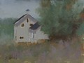 Plein Air Oil painting of Talbot Farm in Waterford, VA