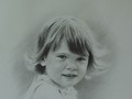 Pencil portrait of Susannah by Simon Bland