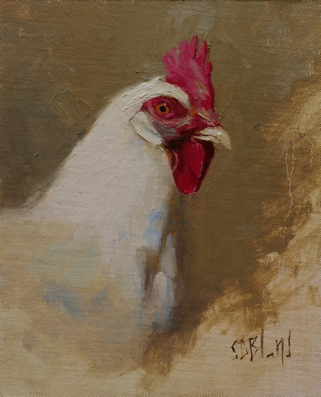 Use of edges in a chicken study