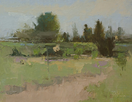 Field Study: Discovery Park 050316. 8x10, oil on linen panel. 2016