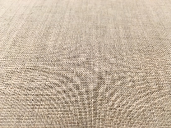Linen after sizing