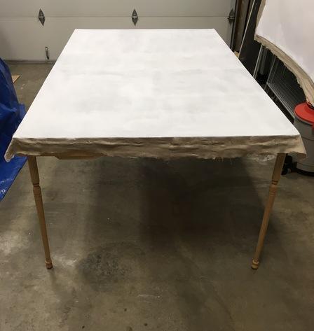 Linen after sealing