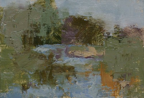 Abstract study of Catoctin Creek