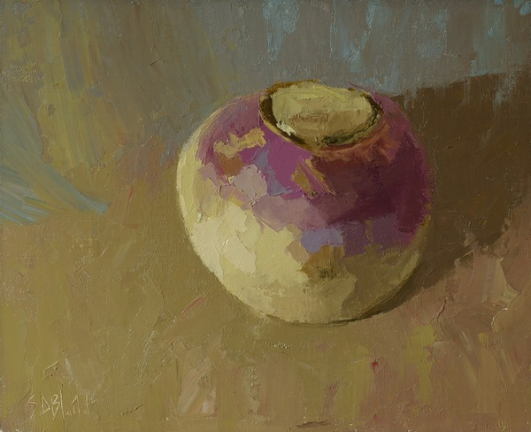 A still life painting by Simon Bland