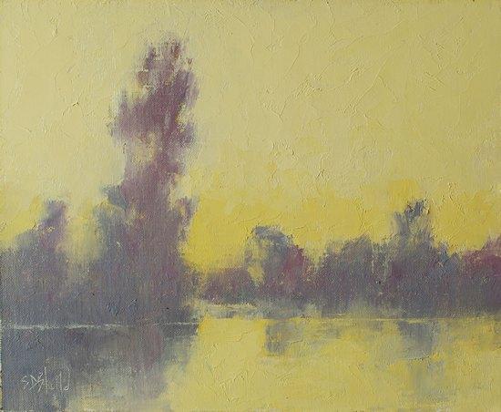 Avoiding Muddy Colors in a Plein Air Painting