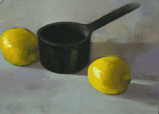 Still Life Painting in the Studio
