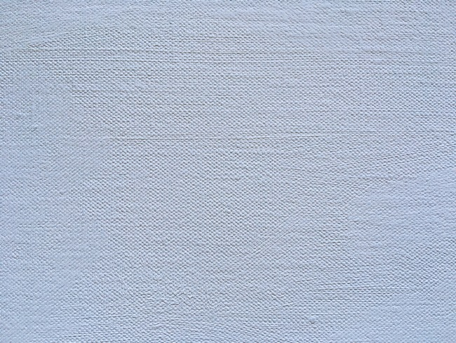 Close up of oil primed hemp linen