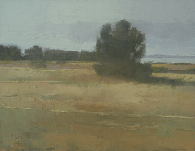 Extended Block-In Method for Landscape Paintings
